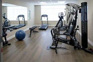photo of the fitness center