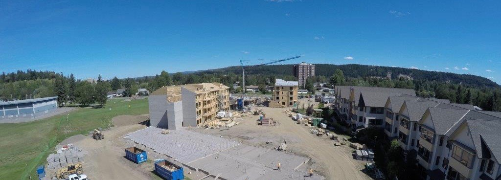 construction RiverBend Prince George