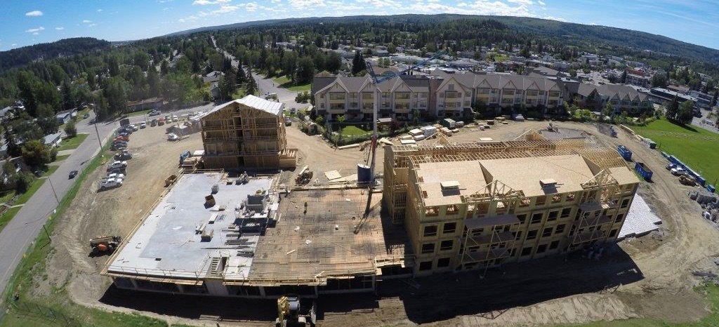 Aerial Image RiverBend Construction Prince George